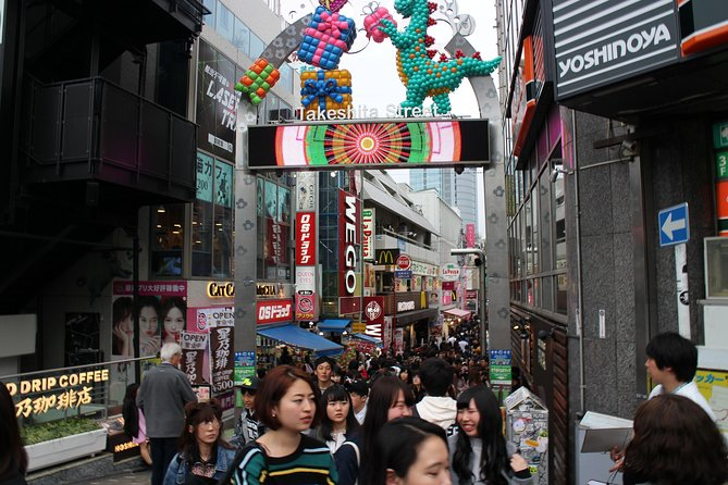 8-hour Tokyo tour by qualified tour guide using public transport