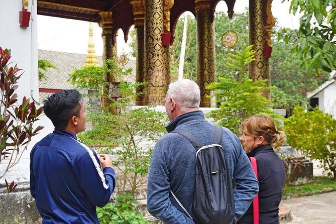 Cultural Temple Tour och guidad meditation erfarenhet av Orange Robe Tours