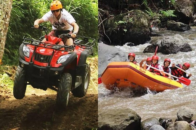 Full Day Best Combination of Bali Atv and Ayung River Rafting Tour