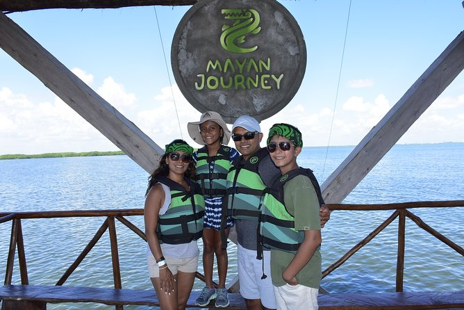 Cancun ziplines and mangrove sightseeing tour photo 6