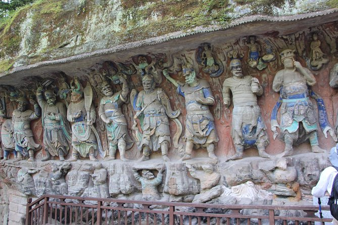 Private one day Dazu Rock Carvings tour with high speed train to Chengdu