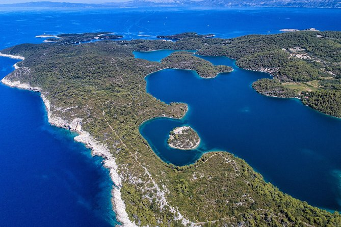 Island of Mljet by motor yacht Elite One