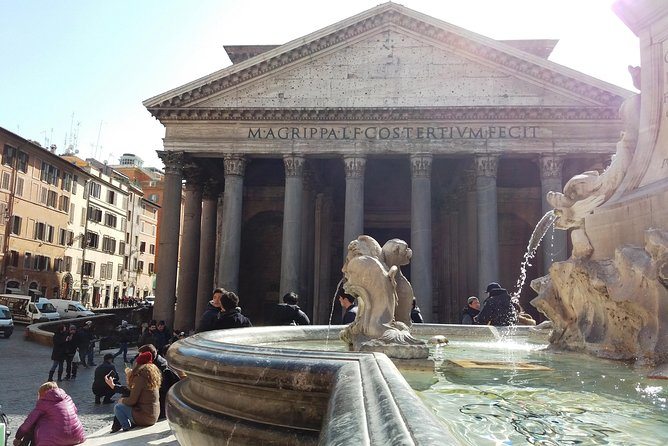 Pantheon and Santa Maria Sopra Minerva Guided Tour in Rome