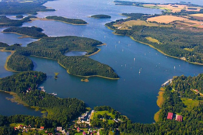 Masurian District - The Wolfs Lair and a Sailing Yacht - 1 DAY TRIP FROM WARSAW