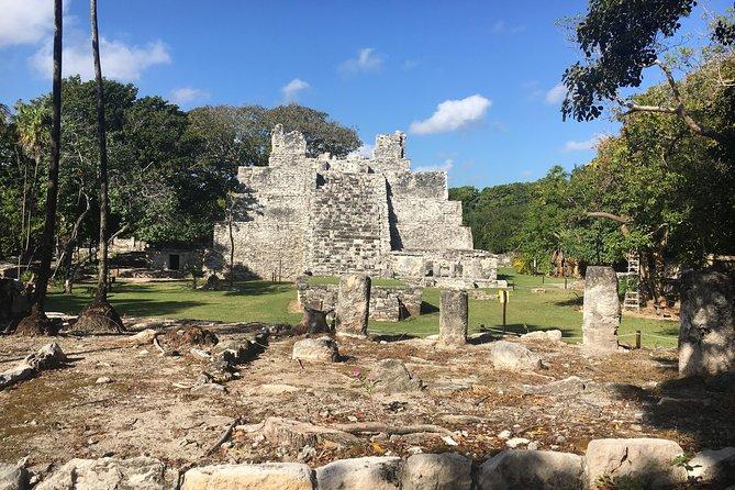Tour 5 in 1: Mayan ruins, Cancun, Puerto Morelos city tour, Cenote & Shopping