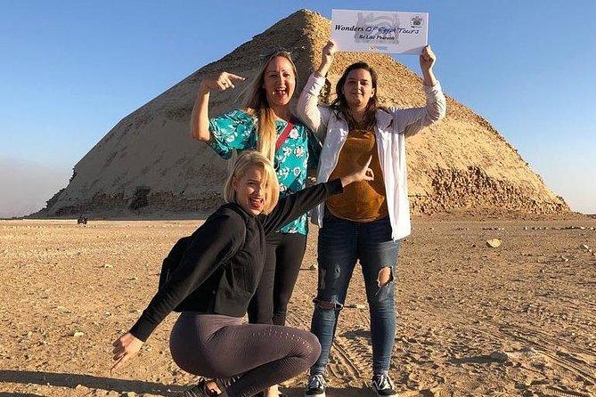Full Day Tour To Giza Pyramids, Great Sphinx, Sakkara & Dahshur