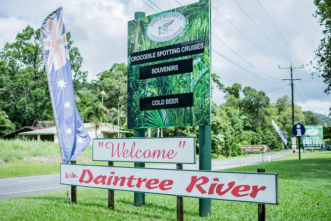 1-Hour Daintree River wildlife cruise