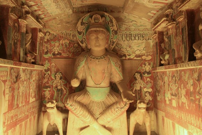 Dunhuang Private Day Tour Mogao Grottoes, Singing Dunes and Crescent Moon Spring