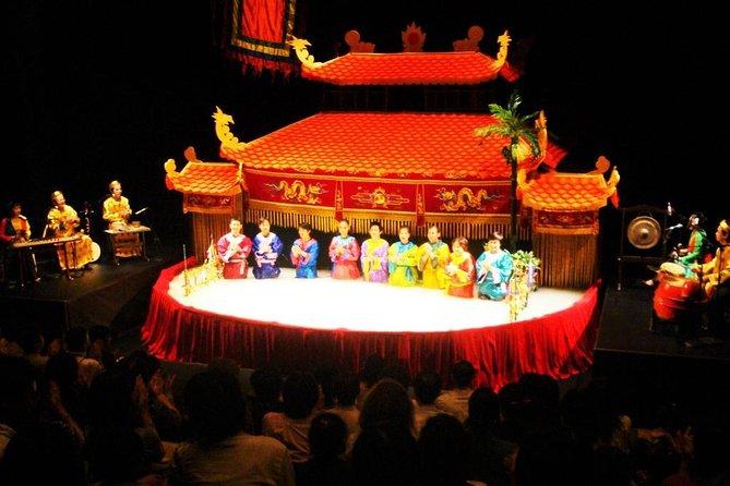 (Best) Water Puppet Show Ticket - Pluss gratis tur for Hanoi (valgfritt)