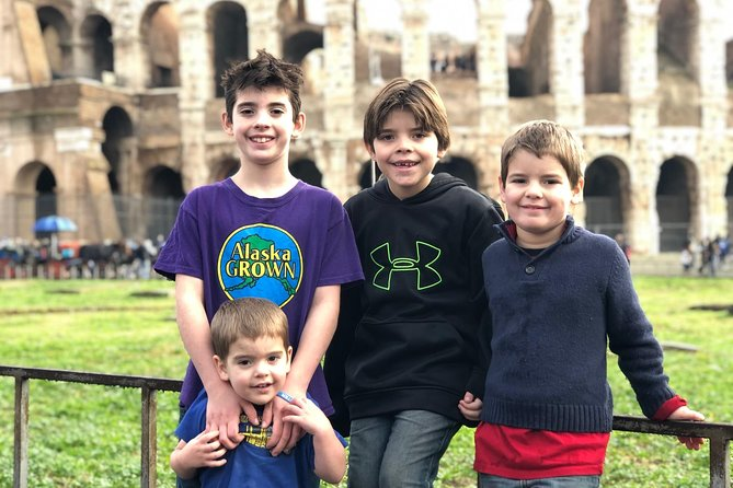 Colosseum & Forums Treasure Hunt in Rome for Kids with Skip-the-Line Access