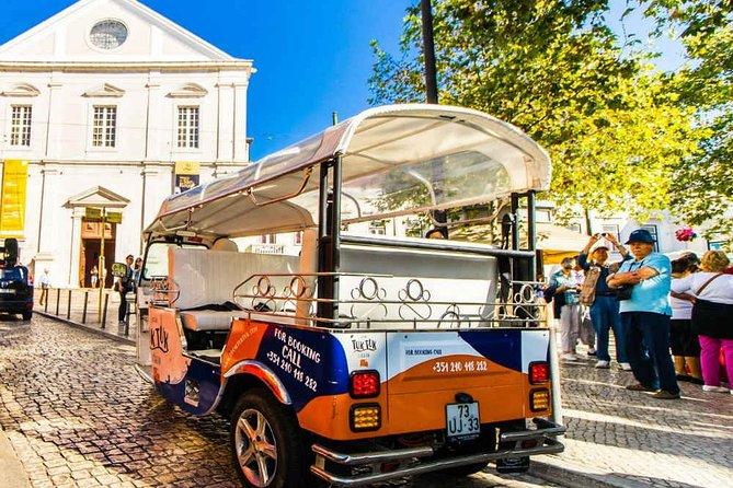 Lisbon Old City II 1h30 Tuk Tuk Tour