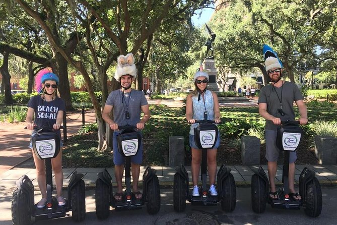 60 minute Segway History Tour of Savannah photo 3