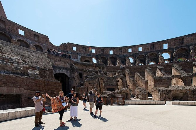 Colosseum with Arena Access and Ancient Rome Small Group Tour