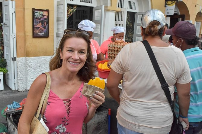 Excursão de comida de rua em Cartagena