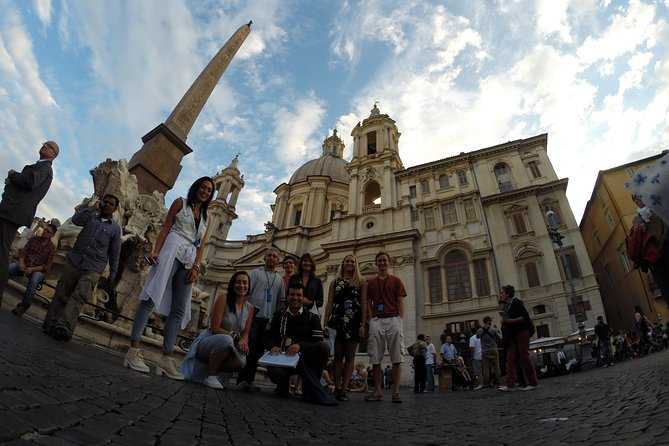 Private Rome city driving tour.. with gelato!