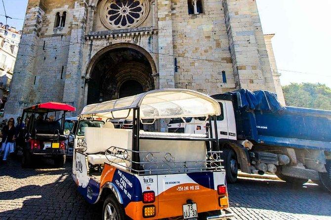 Religious Lisbon 2-Hours Tuk Tuk Tour