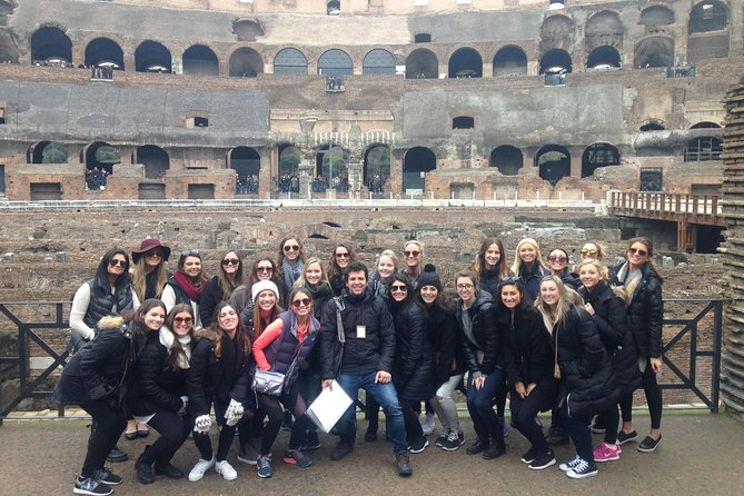 Skip the line walking tour of the Colosseum, Roman forum and Palatine hill