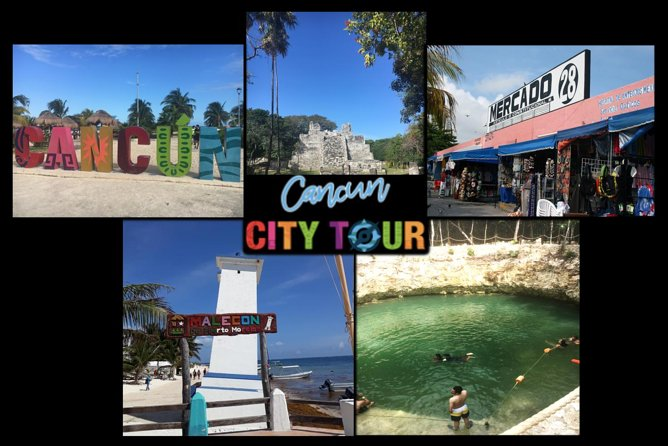 Day Trip Vacation City Tour Combo 5 in 1