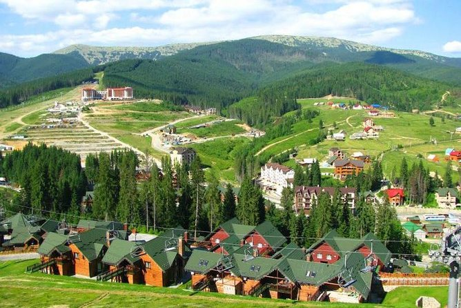 Discover ski resort Bukovel