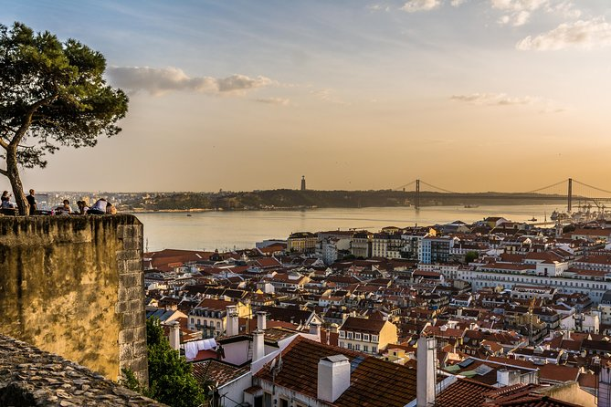 Photograph Lisbon's Sunset & Night, Walking with a Postcard Photographer