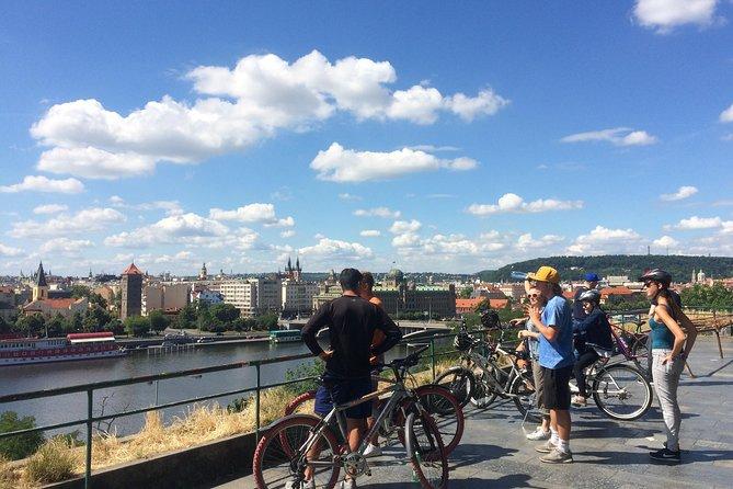 Panoramic Prague & Castle -city & park bike tour