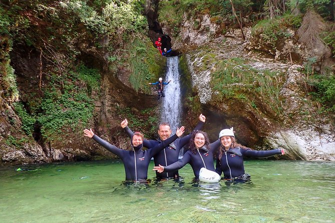 Canyoning Bled Slovenia