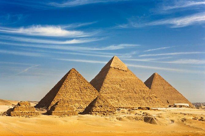 Pyramids - Egyptian museum and Khan El Khalili Tour