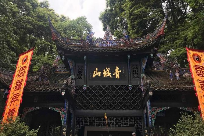 One Day Trip to Dujiangyan Irrigation System & Mount QingCheng Tour