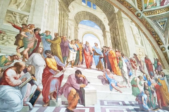 Skip-the-line Exclusive Private Tour of Vatican Museum Sistine Chapel & St Peter