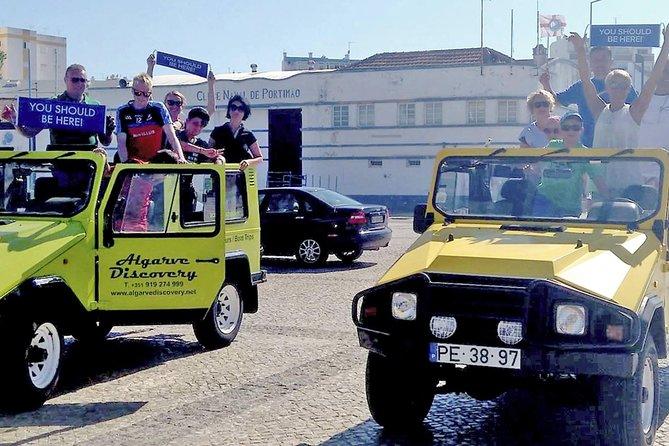 Algarve Coast Jeep Trip from Portimao