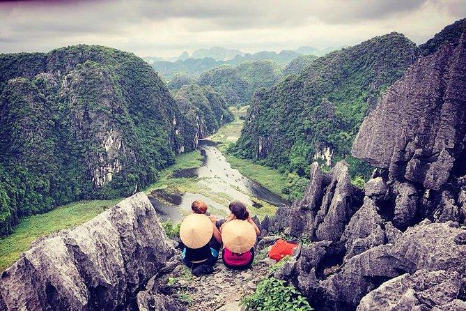 Trang An de lujo - Cueva Mua - Hoa Lu con almuerzo buffet