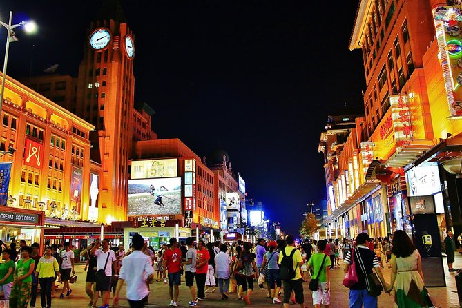 Beijing Illuminations Night Tour with Dinner and Ourdoor Hot Spring Experience