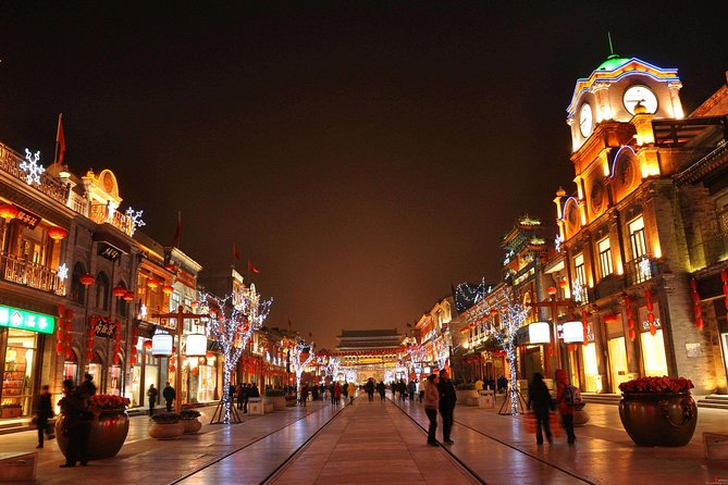 Beijing by Night Private Layover Tour Including Round-Trip Airport Transfer