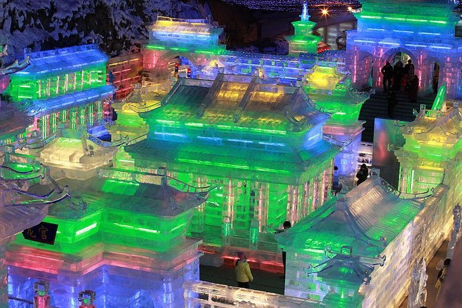 Beijing Private Tour to Badaling Ski Resort and Longqing Gorge Ice Lantern Festival photo 1