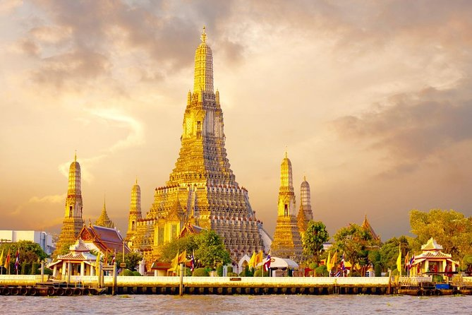 Bangkok Three Temples Tour: Wat Pho, Wat Traimit & Wat Arun (Multi Languages)