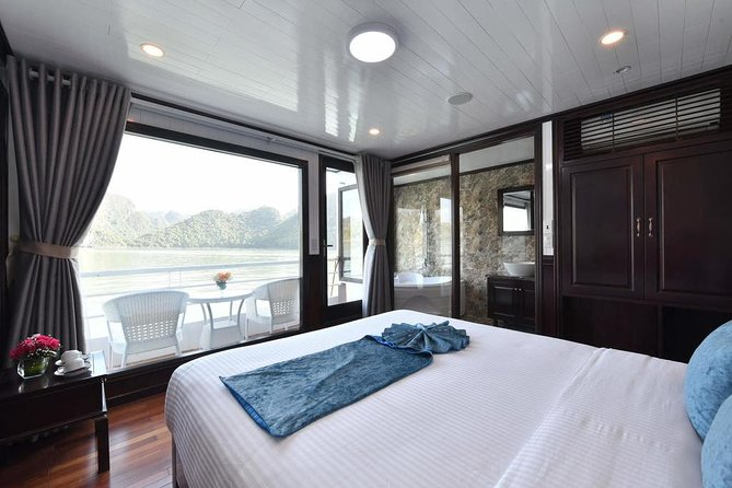 Experiencing 3 days - 2 nights at balcony cabins on Premium boats all inclusions