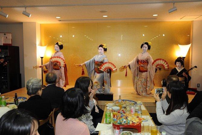 Traditionelle Maiko-Vorstellung in Kyoto