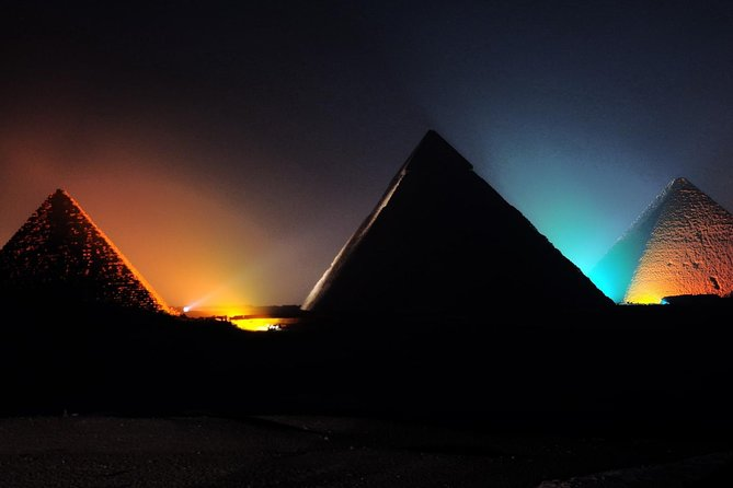 Giza Pyramids Evening Sound and Light Show from Cairo photo 1