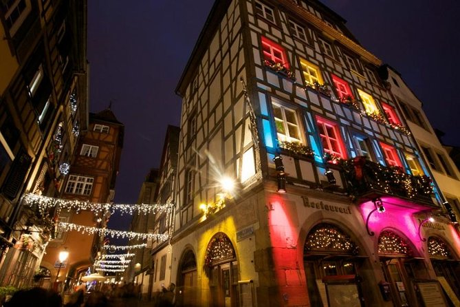 Strasbourg Christmas Lights Sightseeing Pedicab Private Guided Tour