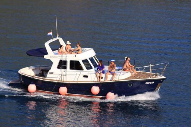 Dubrovnik Islands Private Rented Boat Cruise