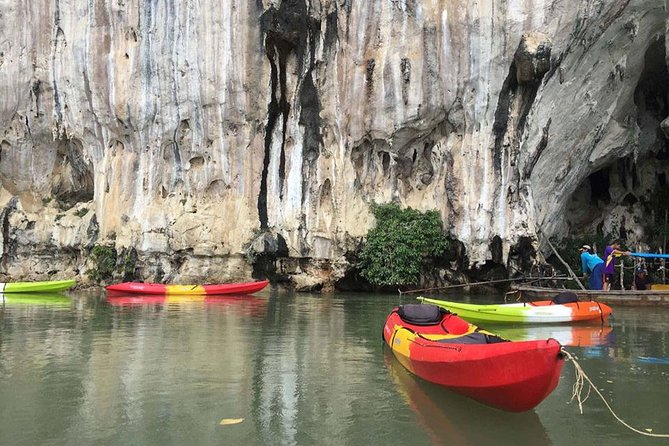 Sea Cave Kayaking at Khao Karos Krabi