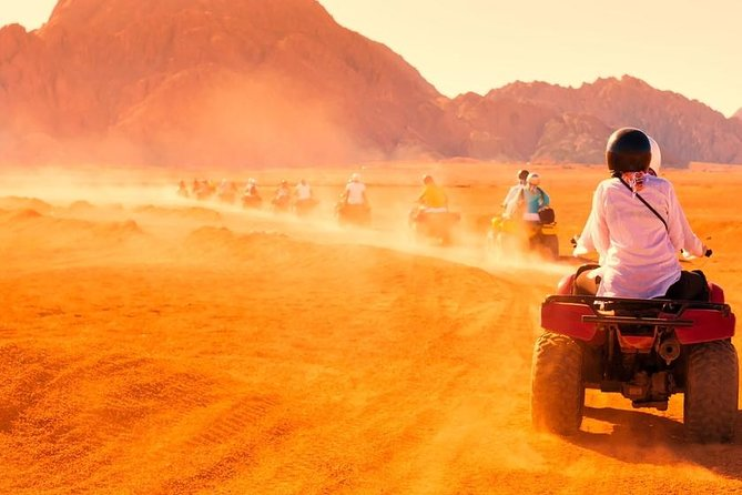 5-Hour Sunset Safari by Quad Bike with dinner