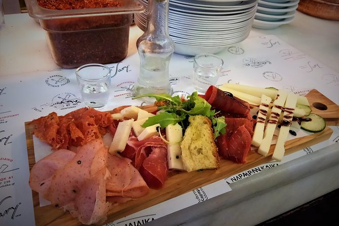Athens small group traditional Greek Food Tasting tour