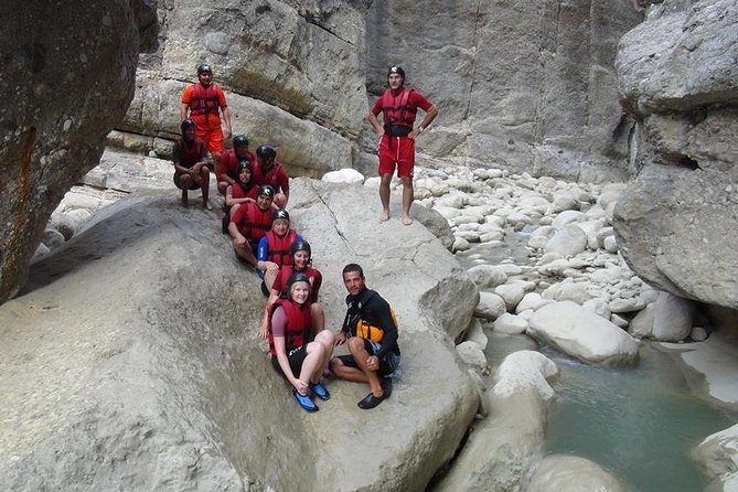 3 in 1 Full-Day Adventure: Rafting-Zippline-Canyoning