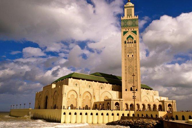 Recorrido privado de Casablanca Layover con traslado de ida y vuelta al aeropuerto