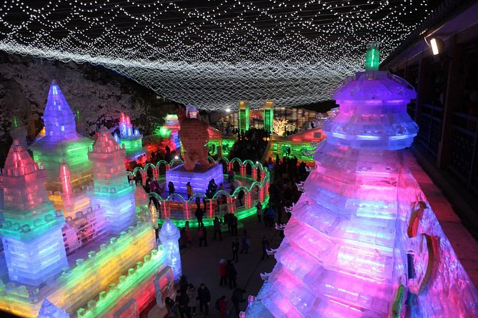 Beijing Private Tour to Badaling Ski Resort and Longqing Gorge Ice Lantern Festival photo 2
