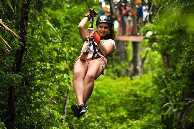 Adrenaline Day! Atv's (Shared) ziplines, Cenote Swim from Cancun or Riviera