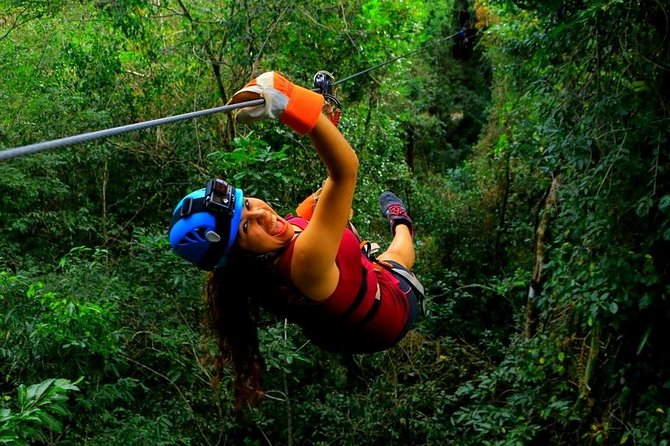 Adrenaline experience from Cancun Atvs Ziplines and a Mayan Cenote