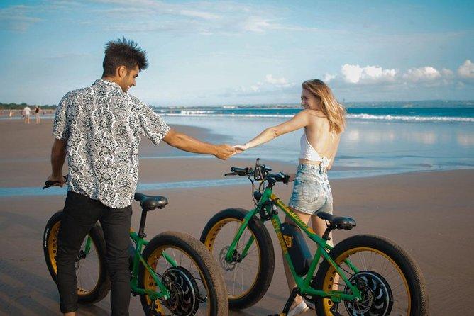 Seminyak Beach E-Bike Half-Day Tour