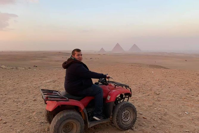 Quad Bike, Lunch Koshry & Camel Ride Private Tours from Cairo Giza Hotel